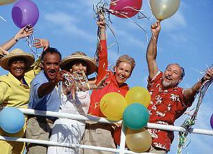 Cruise passengers seniors tinified
