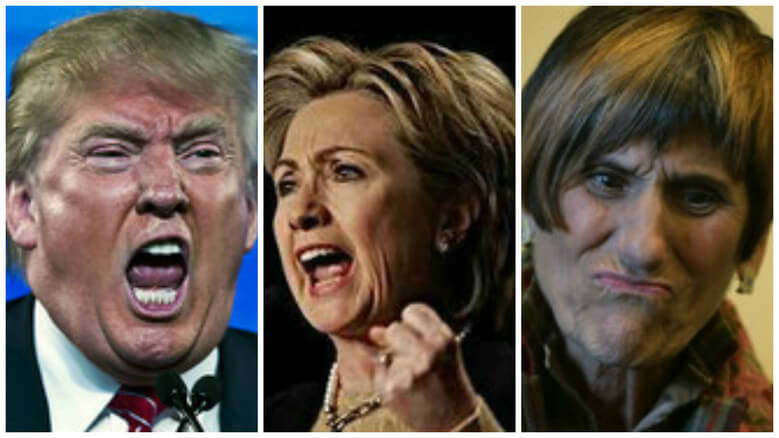 Trump_Hillary_DeLauro_very angry tinified